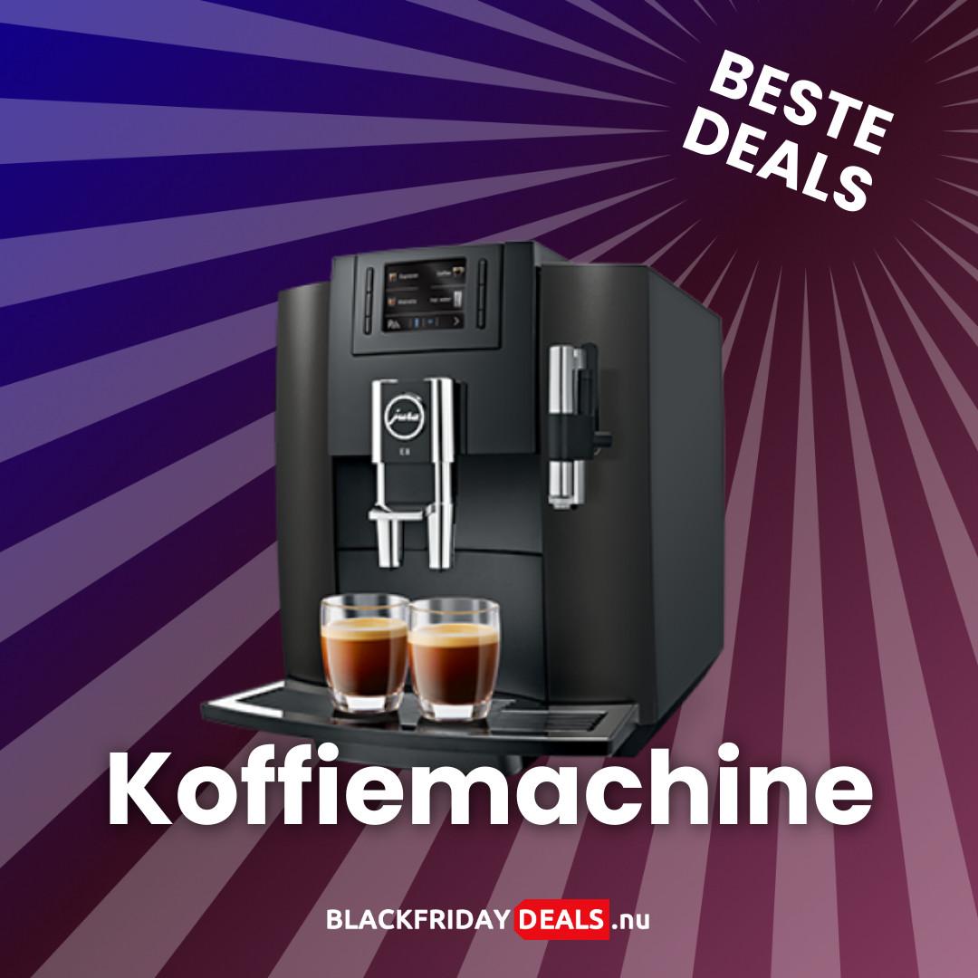 Koffiemachine Black Friday