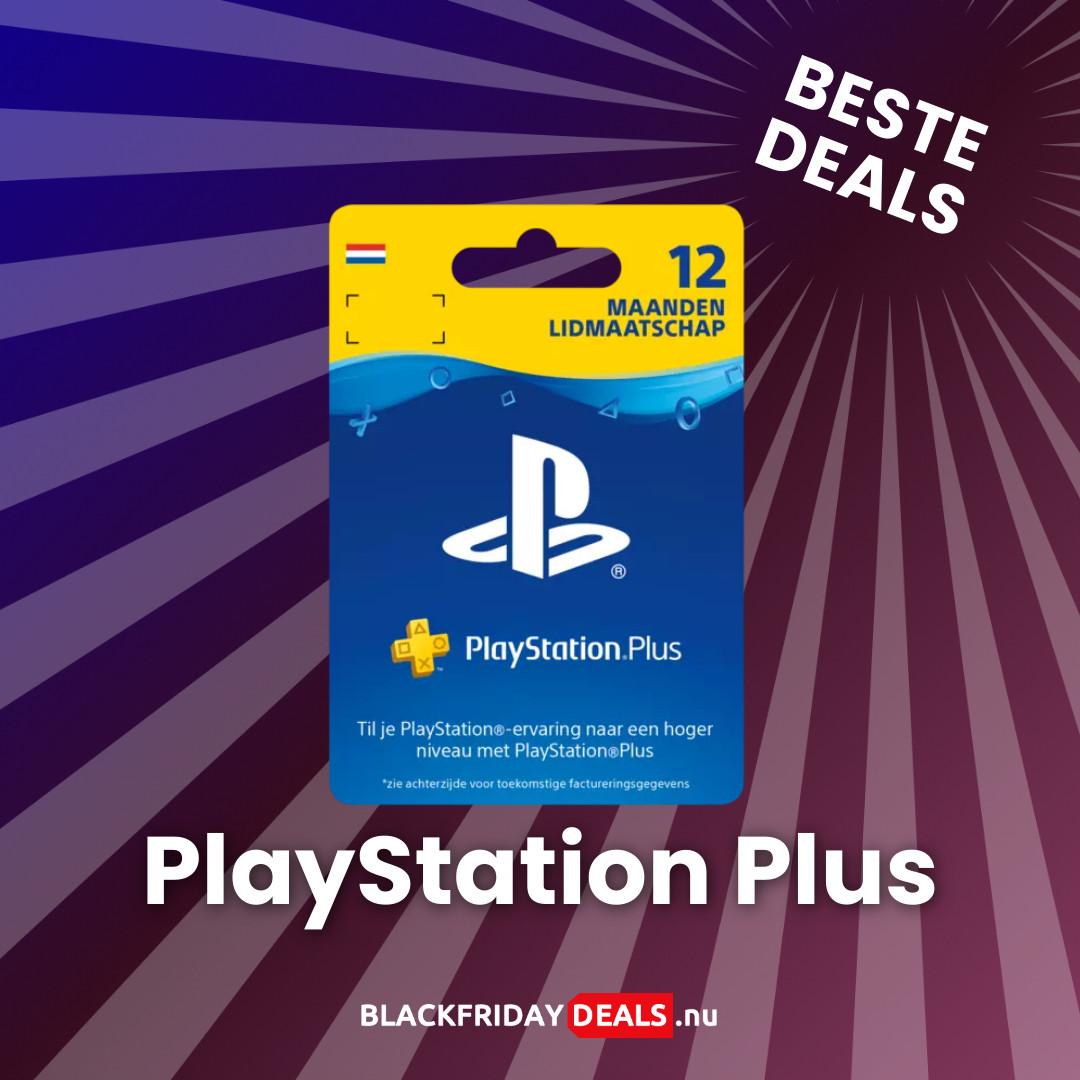 PlayStation Plus Black Friday