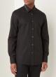 de Bijenkorf - Alexander McQueen Regular fit overhemd met stretch black friday deals