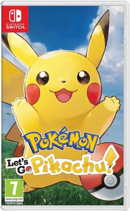 Nintendo Switch Let'S Go Pikachu kopen tijdens black friday vergelijk hier