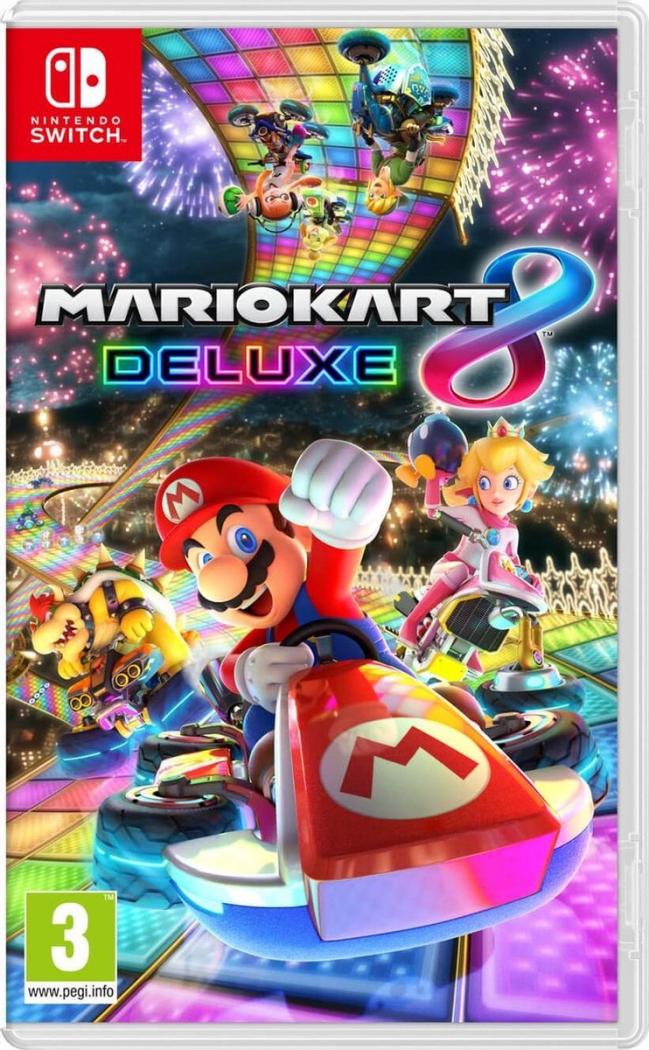 Nintendo Switch Mario Kart 8 Deluxe kopen tijdens black friday vergelijk hier