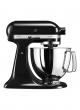 de Bijenkorf - KitchenAid Artisan mixer-keukenrobot 4,8 liter 5KSM125EOB – Onyx Zwart black friday deals