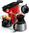 Bol.com - Philips Senseo Switch HD6592/80 – Koffiepadapparaat & Thermoskan – Rood black friday deals